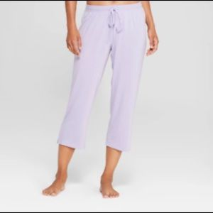 🛌NWT Gilligan & O'Malley Comfort Crop Pajama Pant